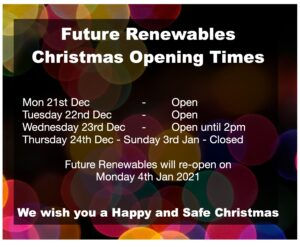 Closed Thursday 23rd Dec - Sunday 3rd Jan